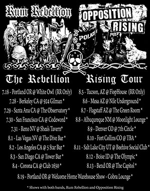 Rebellion Rising 2k17 Tour Flyer!
